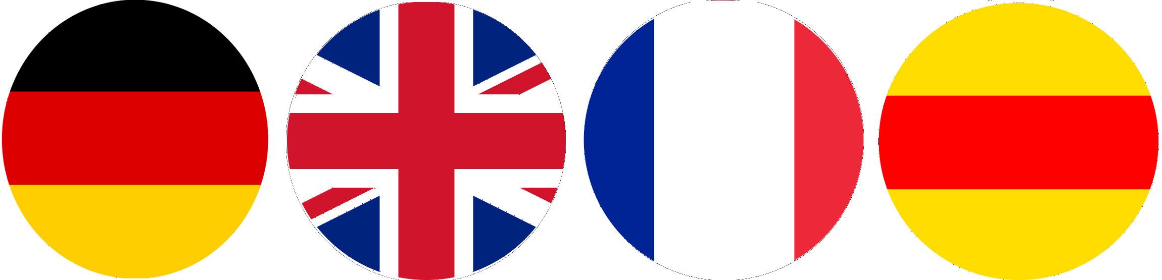 Wir sprechen deutsch, englisch, französisch und badisch