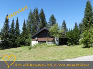 * RESERVIERT * Freistehendes Wohn- / Ferienhaus auf 1.000m, am Hochkopf