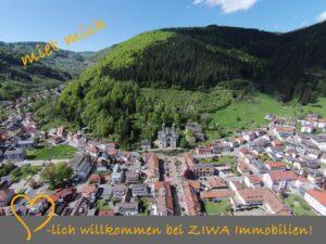 Teilmöblierte 2,5-Zimmer-Wohnung zur Miete mit Panoramablick, Balkon!