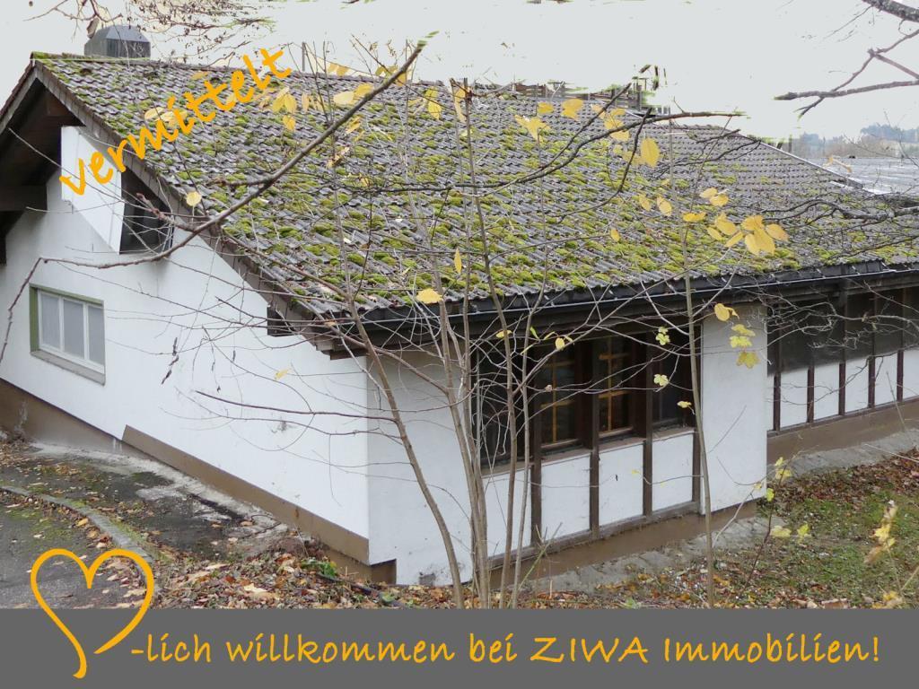 """* VERMITTELT * Besonderer """"Bungalow"""" in spezieller Lage, zw. Todtnau-Schönau"""